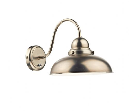 Dynamo 1-light Double Insulated Antique Chrome Wall Light (Class 2 Double Insulated) BXDYN0761-17